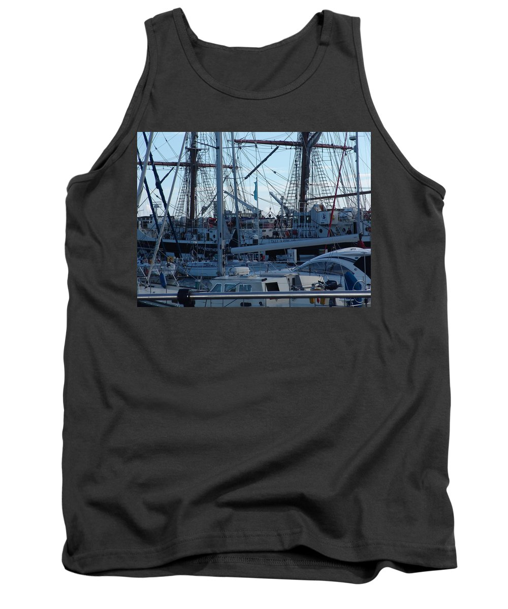 Boats Tank Top featuring the photograph Boats by Ashok Patel