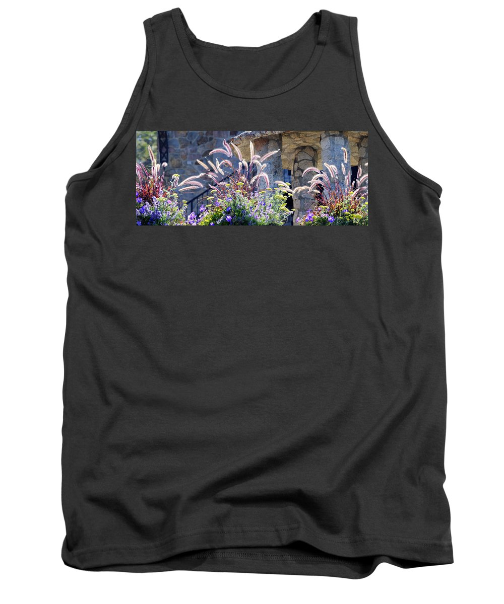Flowers Tank Top featuring the photograph Bouquets On Display by Dianne Phelps