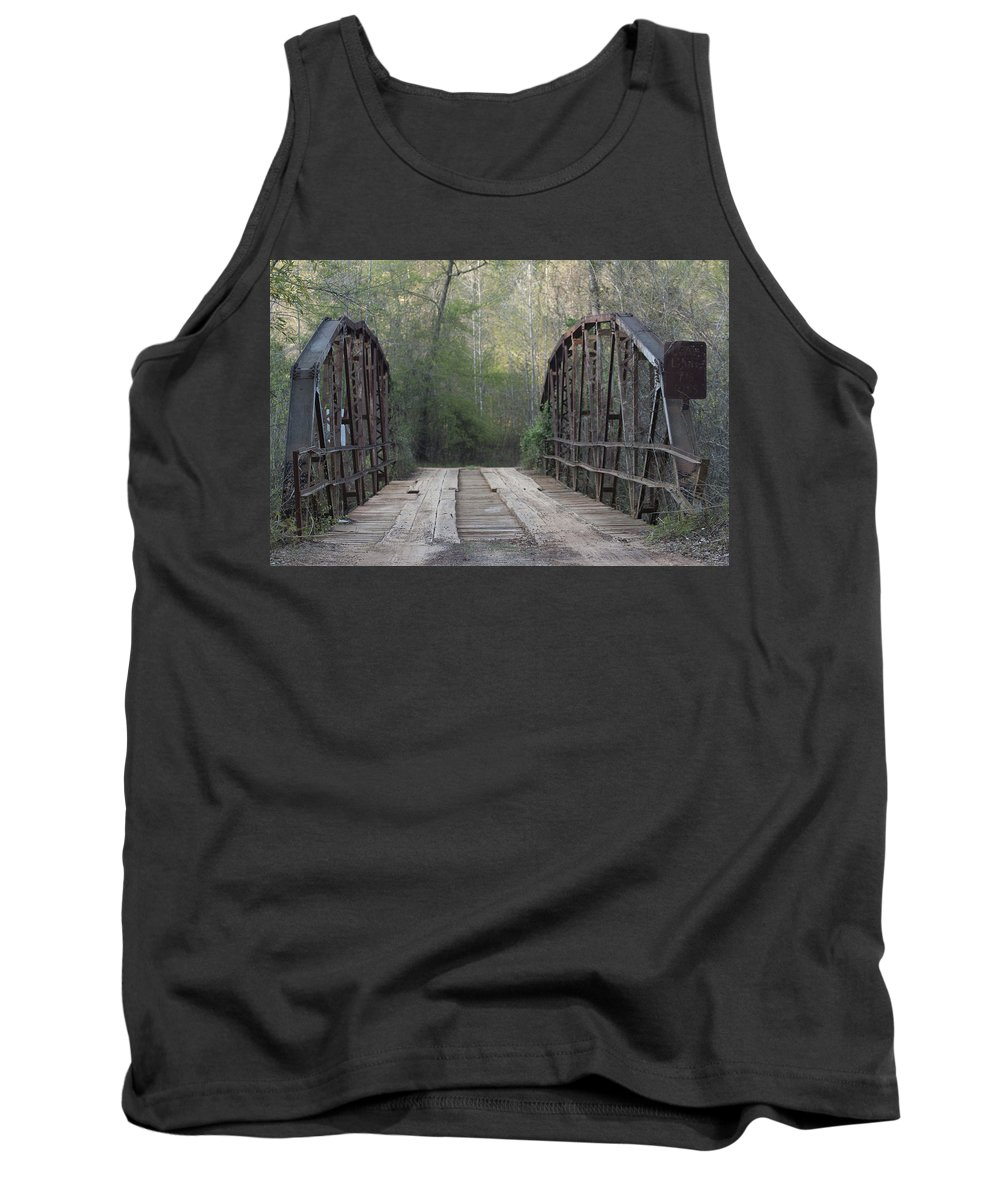 Tank Top featuring the photograph Bridge Before Lightroom by Kim Henderson