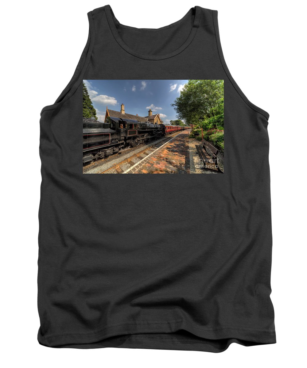 Arley Tank Top featuring the photograph British Locomotion by Adrian Evans