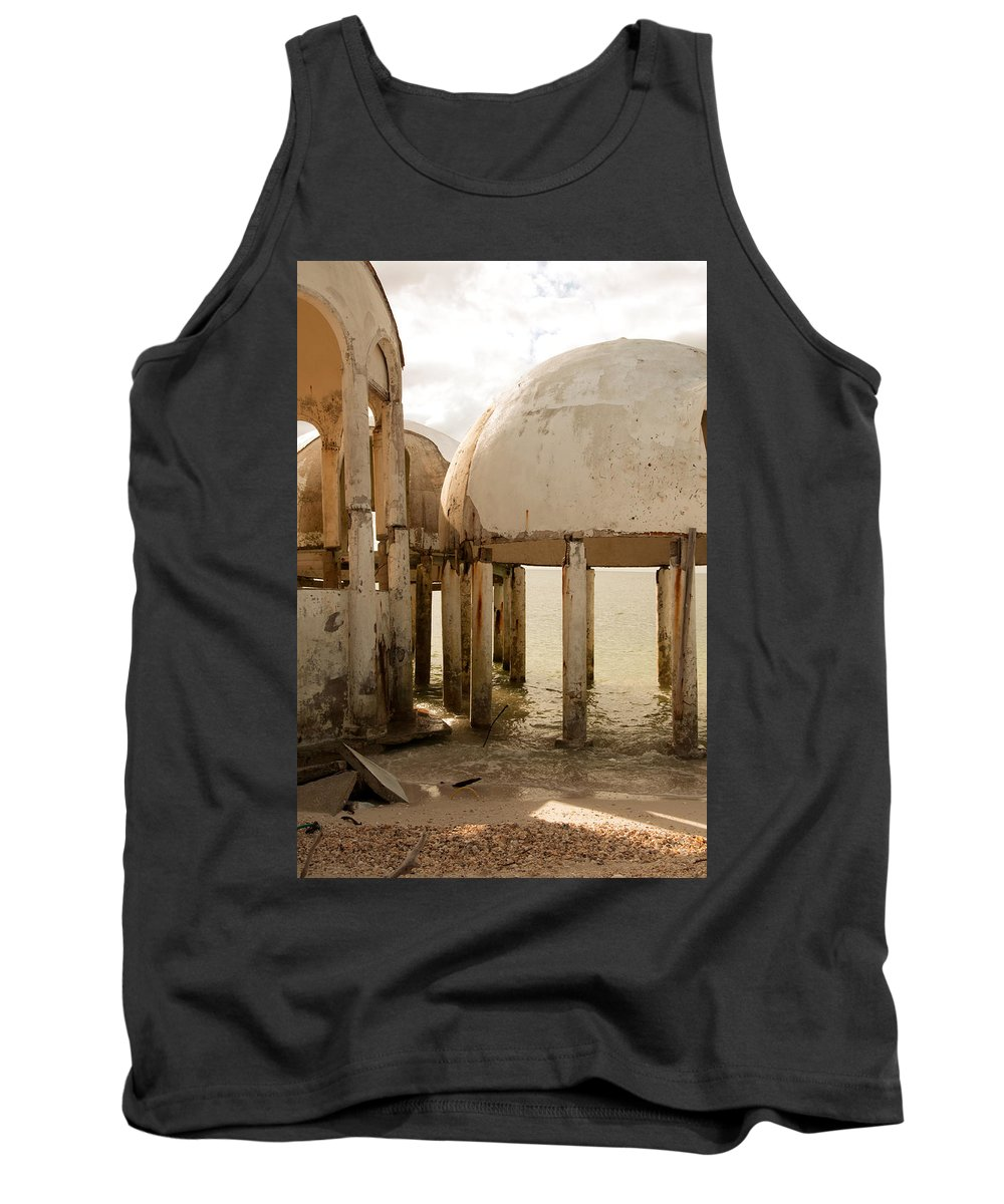 Bubble Houses Tank Top featuring the photograph Bubble House I by Christine Stonebridge