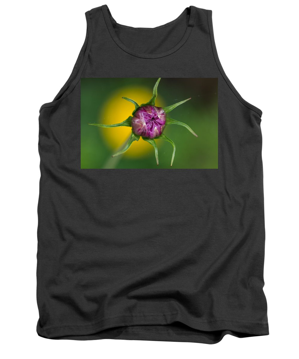 Flower Bud Tank Top featuring the photograph Budding Flower by Greg Nyquist