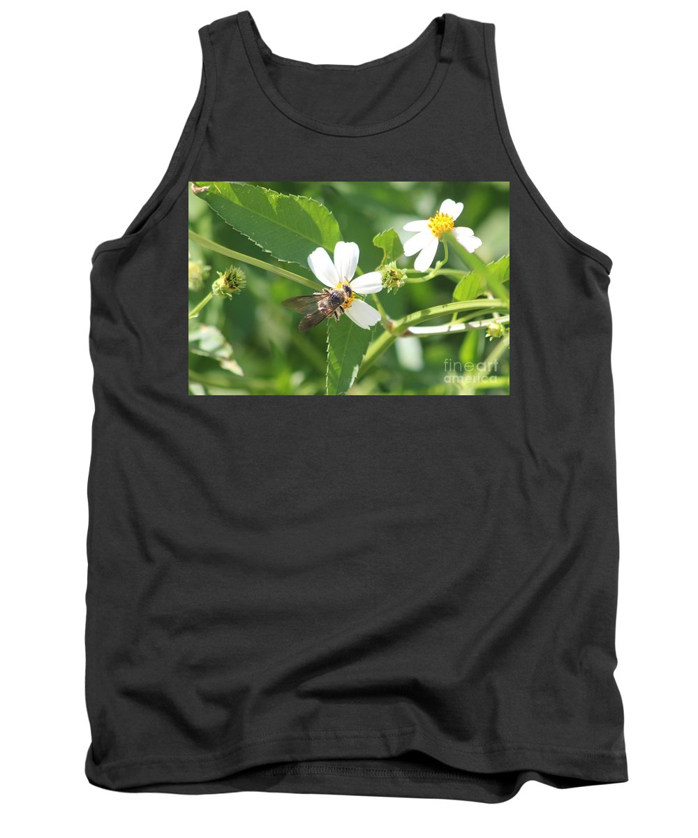 Bumble Bee Tank Top featuring the photograph Bumble Bee 1 by Michelle Powell