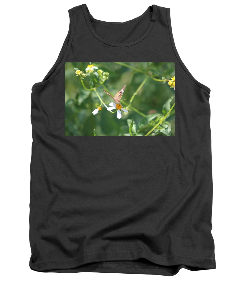 Butterfly Tank Top featuring the photograph Butterfly 22 by Michelle Powell
