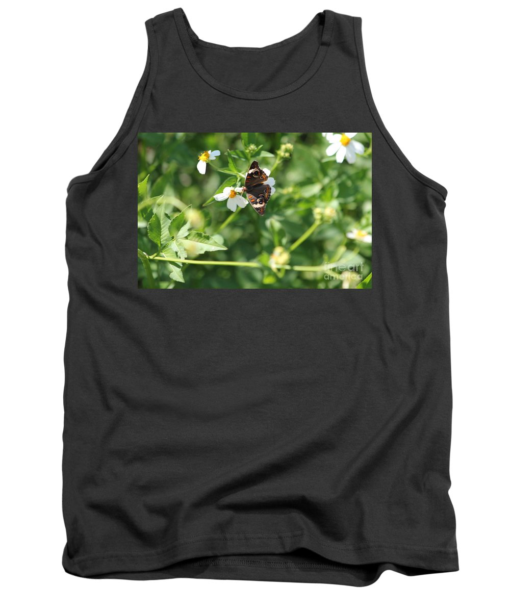 Butterfly Tank Top featuring the photograph Butterfly 25 by Michelle Powell