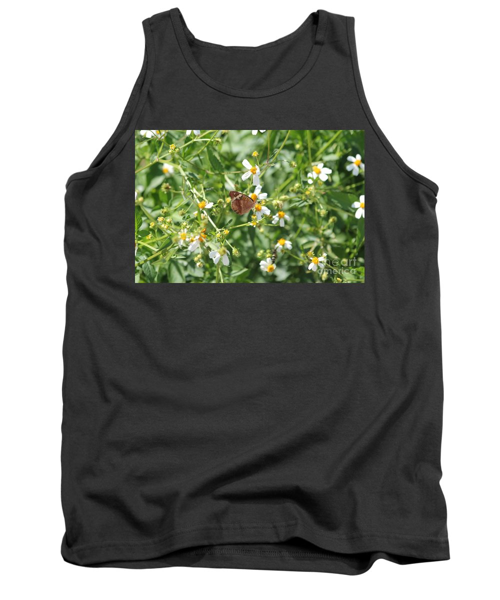 Butterfly Tank Top featuring the photograph Butterfly 31 by Michelle Powell
