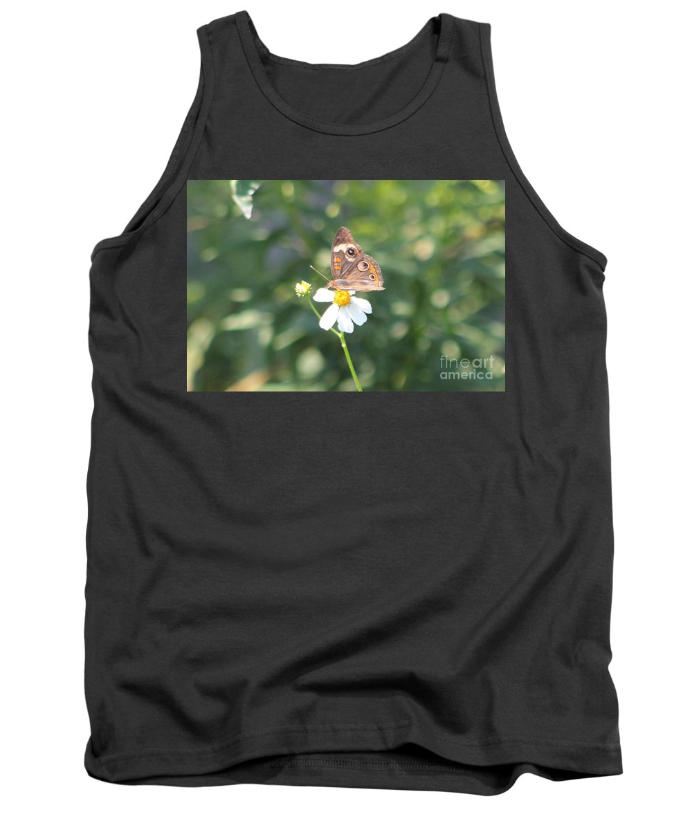 Butterfly Tank Top featuring the photograph Butterfly 42 by Michelle Powell