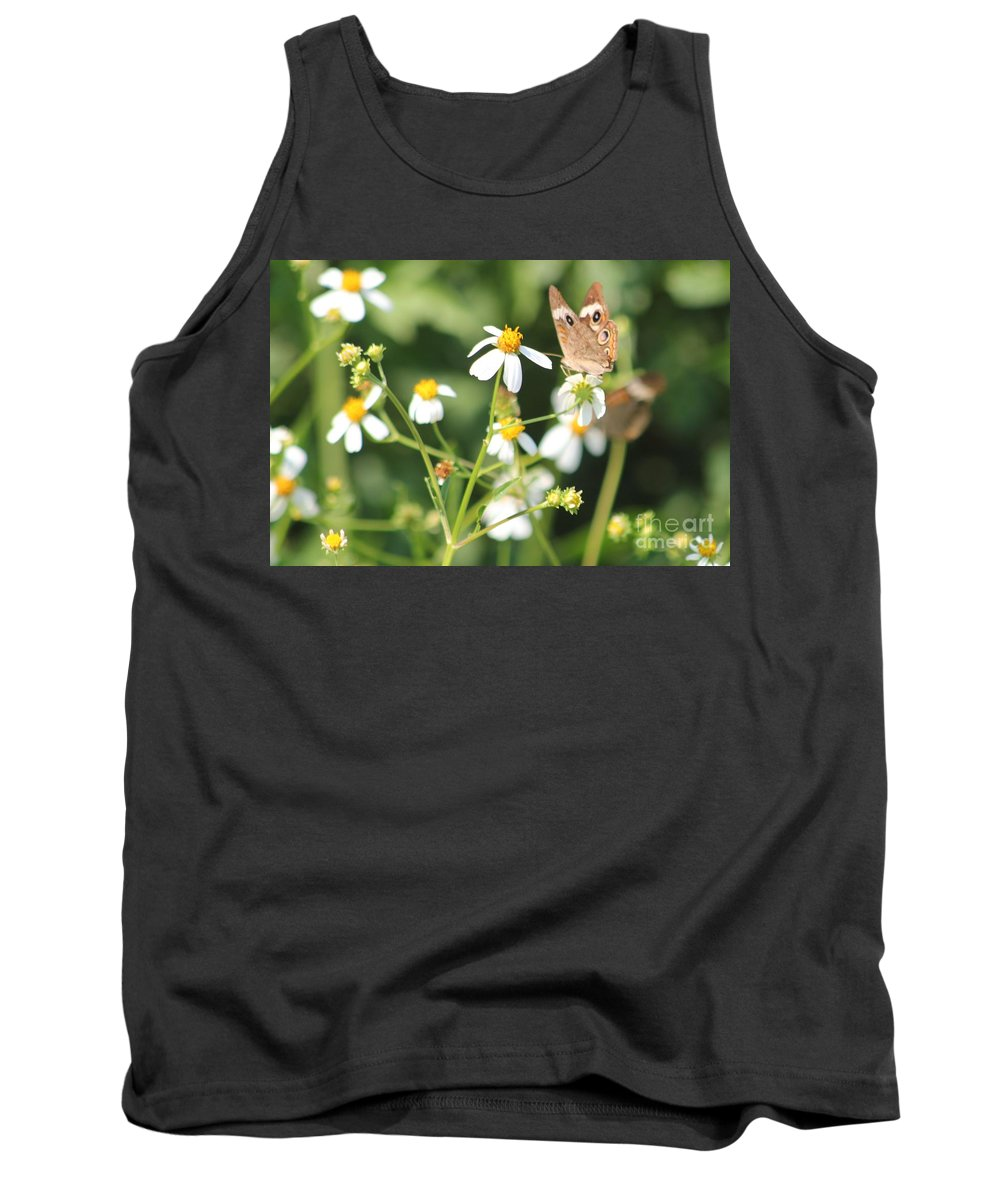 Butterfly Tank Top featuring the photograph Butterfly 44 by Michelle Powell
