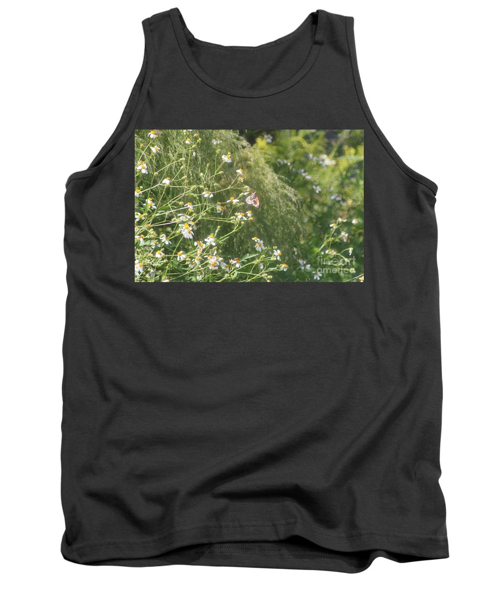 Butterfly Tank Top featuring the photograph Butterfly 49 by Michelle Powell