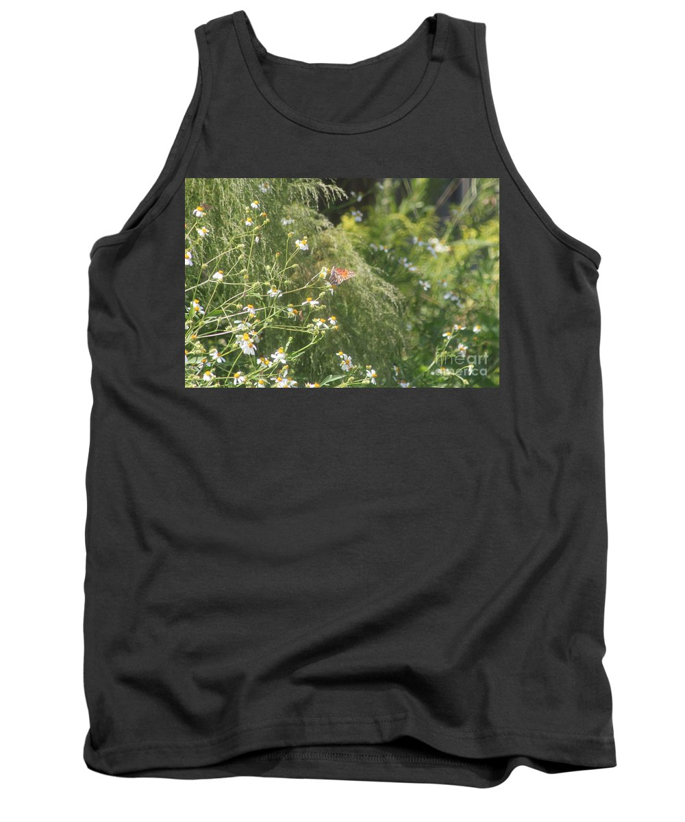 Butterfly Tank Top featuring the photograph Butterfly 50 by Michelle Powell