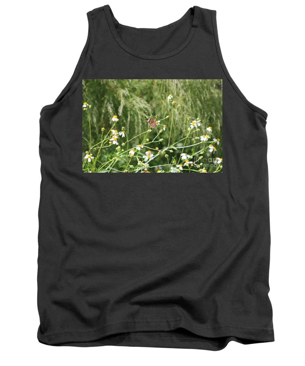 Butterfly Tank Top featuring the photograph Butterfly 6 by Michelle Powell