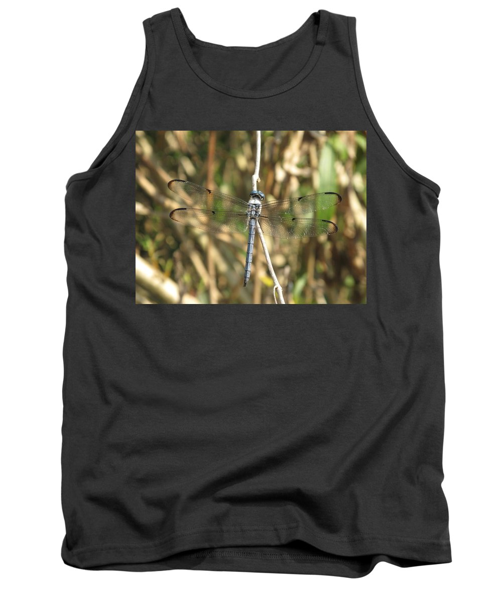 Tank Top featuring the photograph Cammo by Michele Nelson