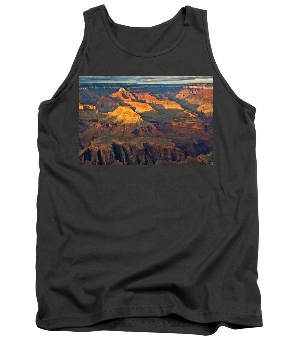 Grand Canyon Tank Top featuring the photograph Canyon View Ix by Jon Berghoff