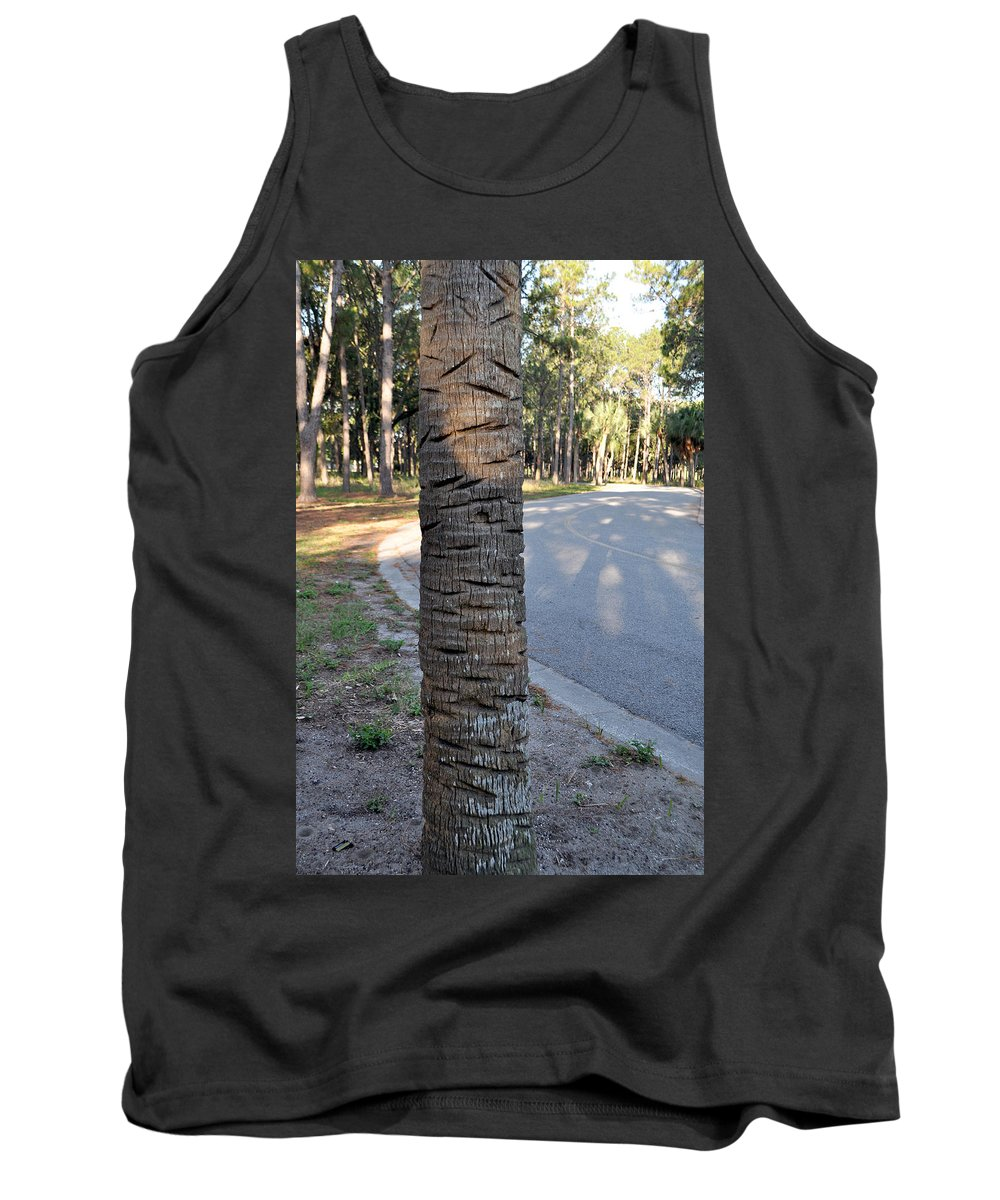Tree Tank Top featuring the photograph Character by Mickey Krause