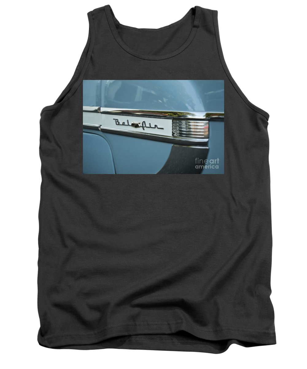 Bel Air Tank Top featuring the photograph Chevrolet Bel Air by John Greim