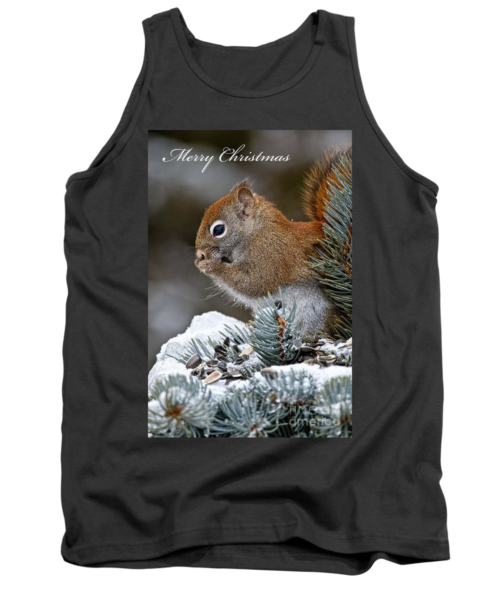 Cards Tank Top featuring the photograph Christmas 13 by Michael Cummings
