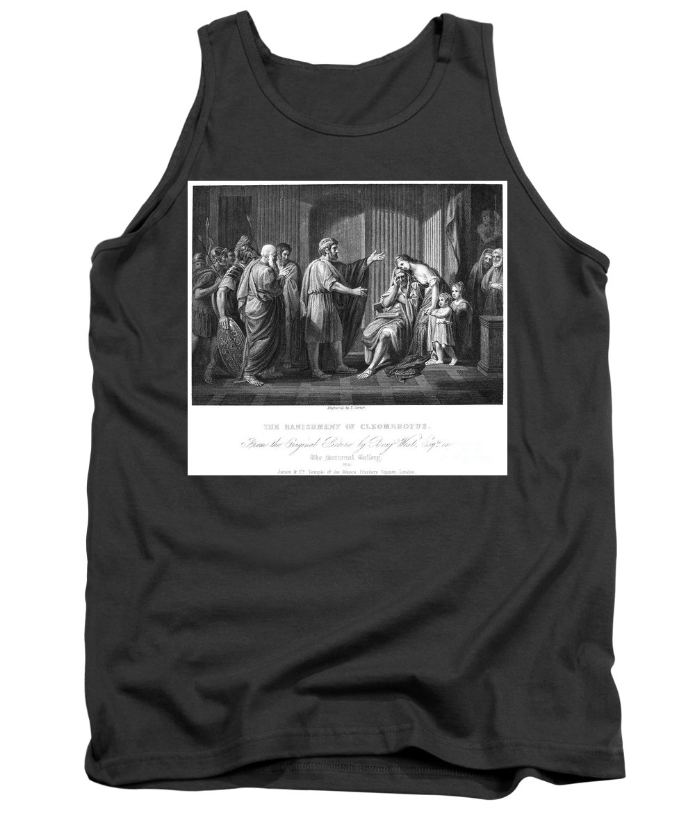 240 B.c Tank Top featuring the photograph Cleombrotus II by Granger