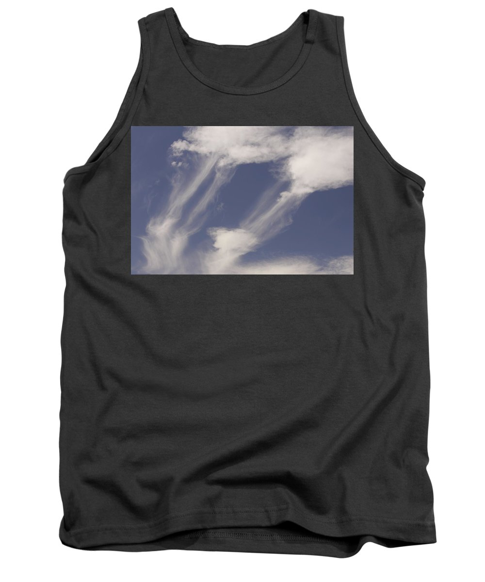 Clouds Tank Top featuring the photograph Connectedness by One Rude Dawg Orcutt
