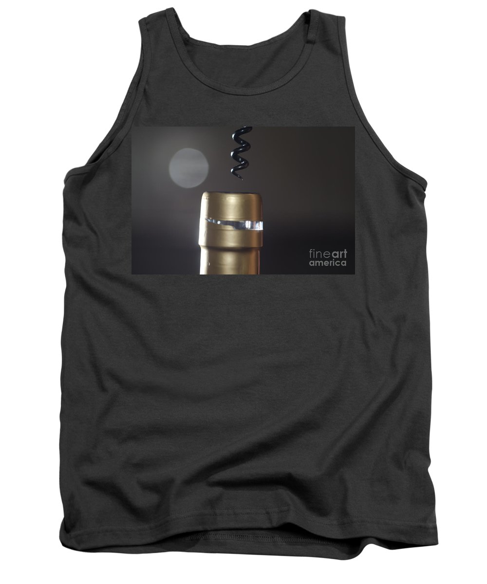 Corkscrew Tank Top featuring the photograph Corkscrew by Mats Silvan