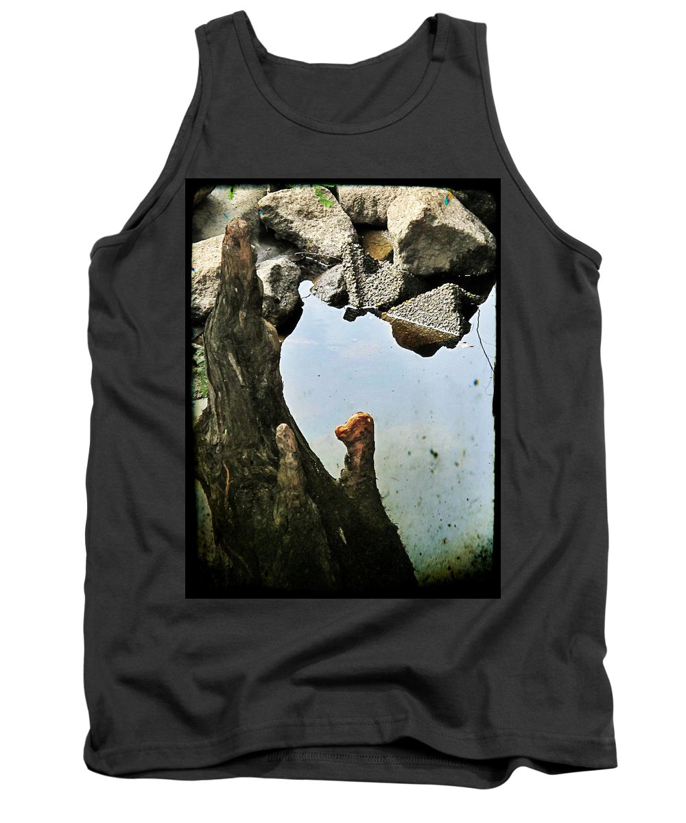Tank Top featuring the photograph Cypress Knees by Michele Nelson