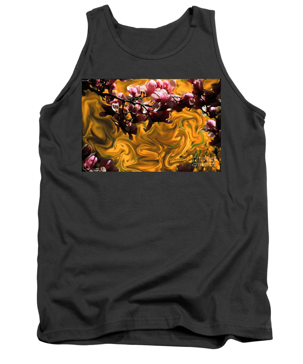 Spring Tank Top featuring the photograph Dali Spring 2 by Mike Nellums