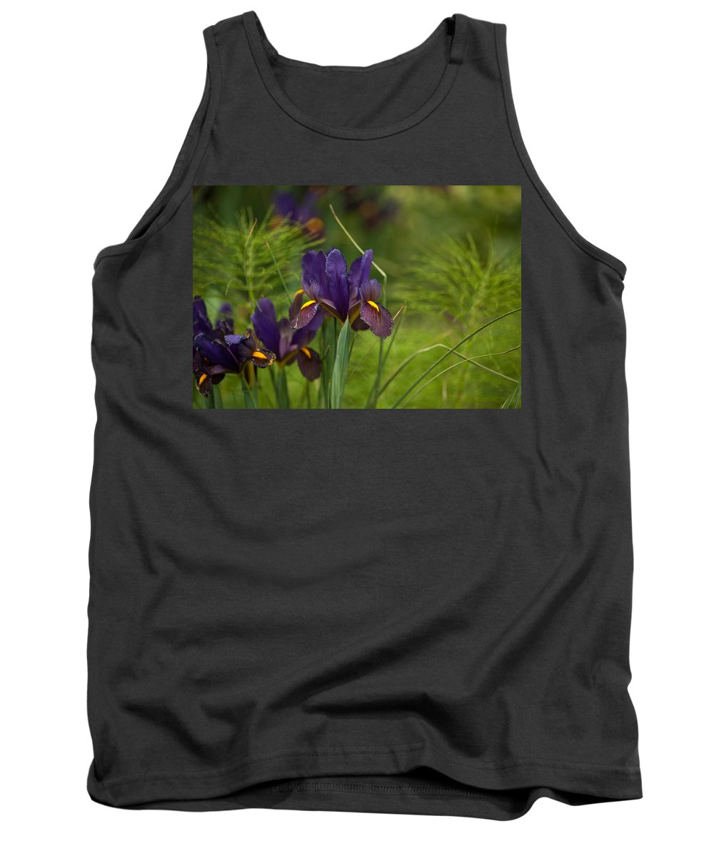 Flower Tank Top featuring the photograph Dark And Beautiful by Mike Reid