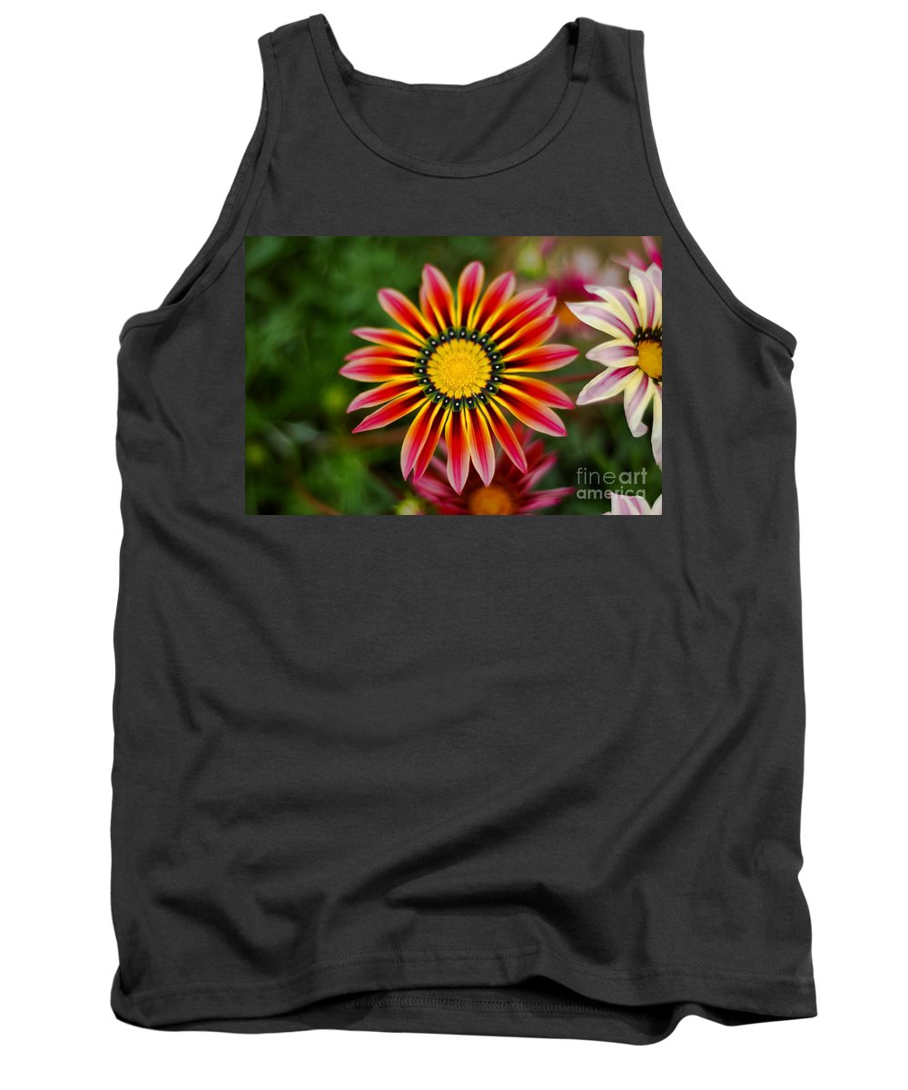 Flower Tank Top featuring the photograph Delicate Designs by Syed Aqueel