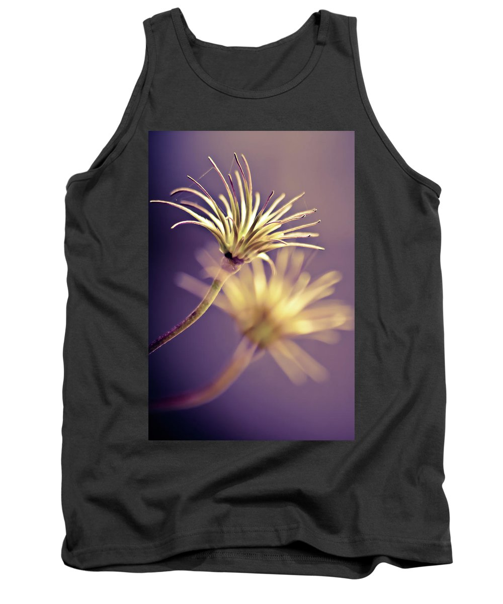 Macro Flower Close Up Tank Top featuring the photograph Delicate by Sarah Wiggins