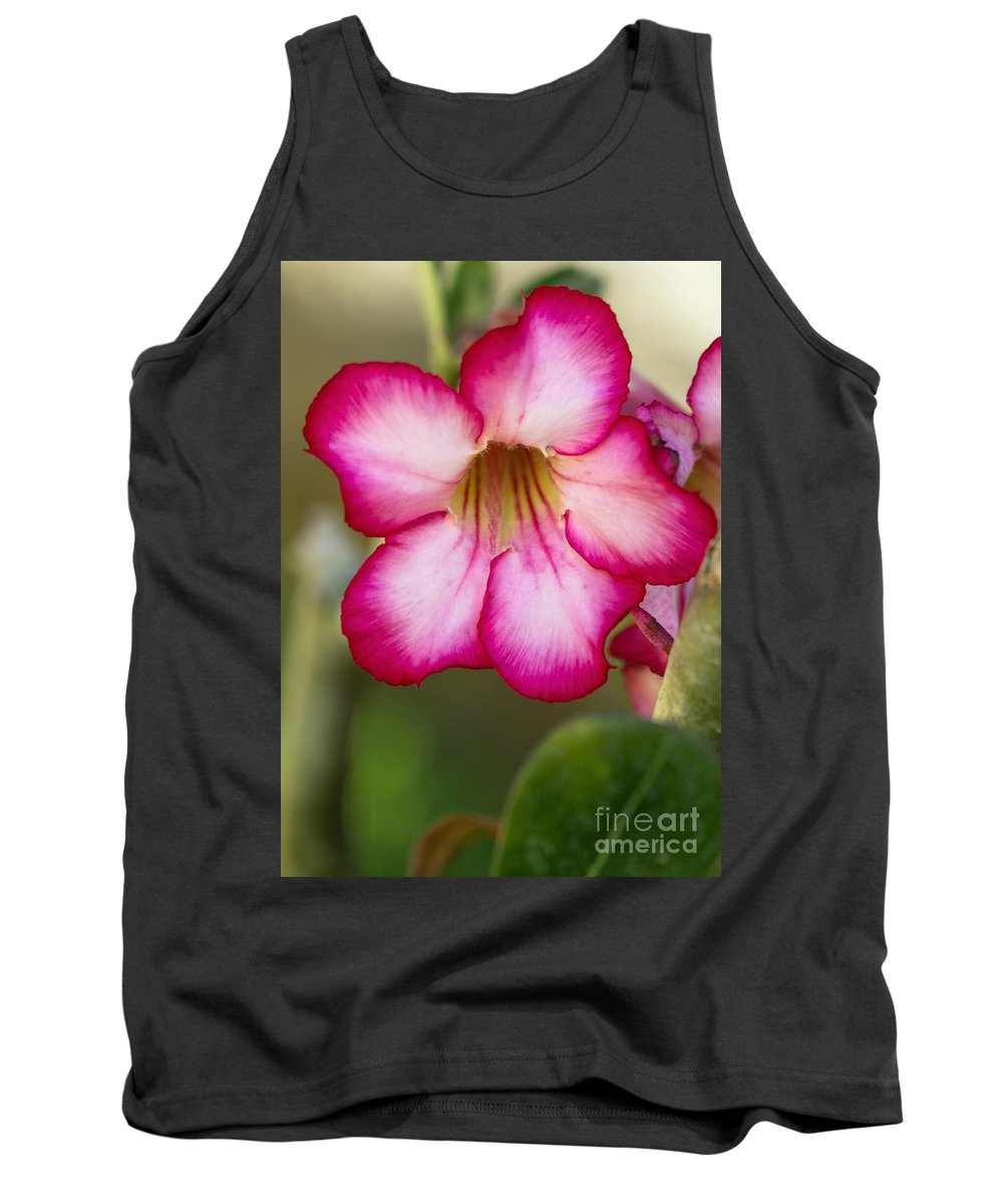 Rose Tank Top featuring the photograph Desert Rose by Sabrina L Ryan