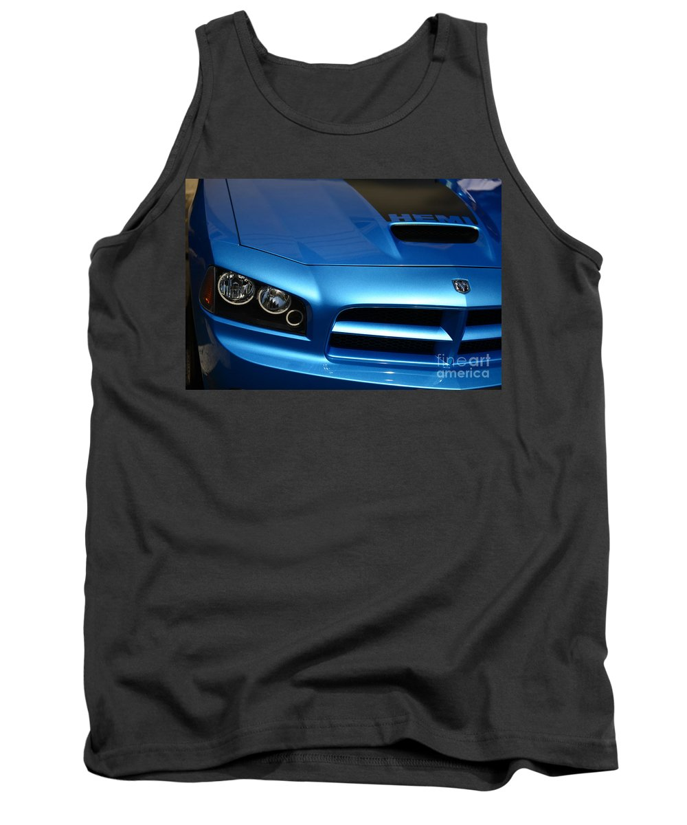 2007 Dodge Charger Tank Top featuring the photograph Dodge Charger Srt8 Super Bee by Paul Ward