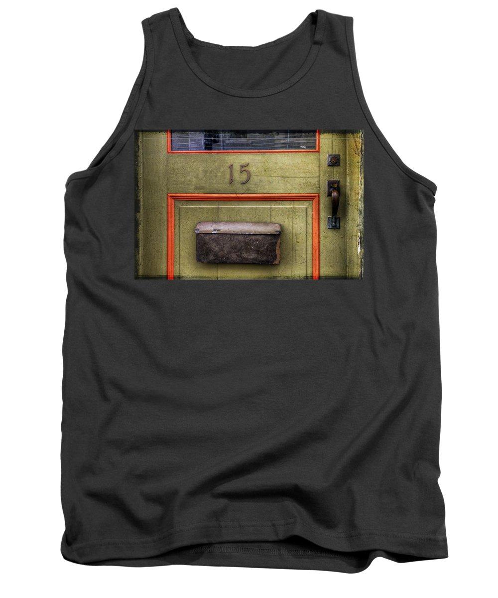 Acrylic Prints Tank Top featuring the photograph Door 15 by John Herzog