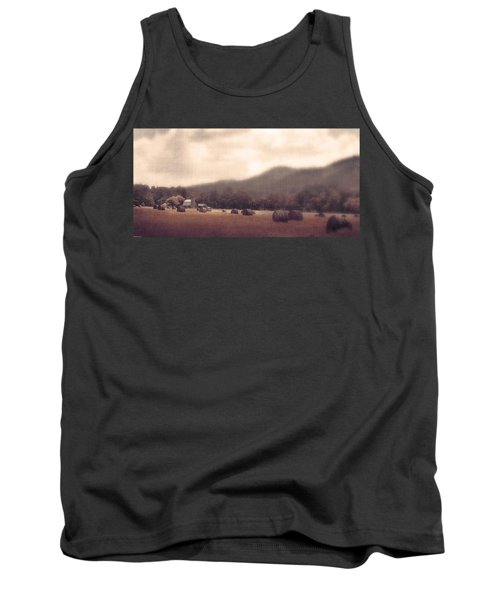 Landscape Tank Top featuring the photograph Down Home by Gray Artus