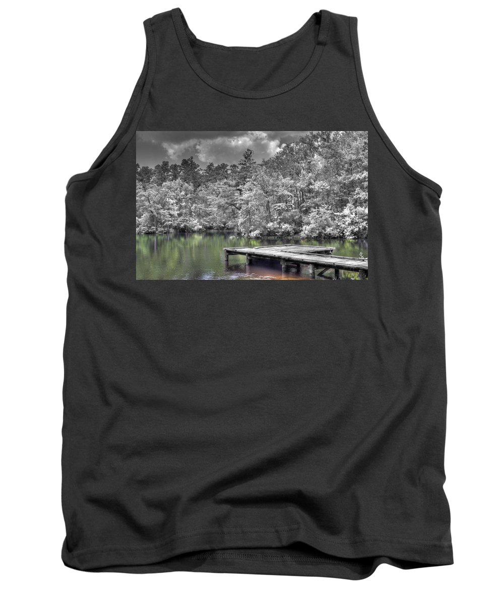 Water Tank Top featuring the photograph Dreaming by David Troxel