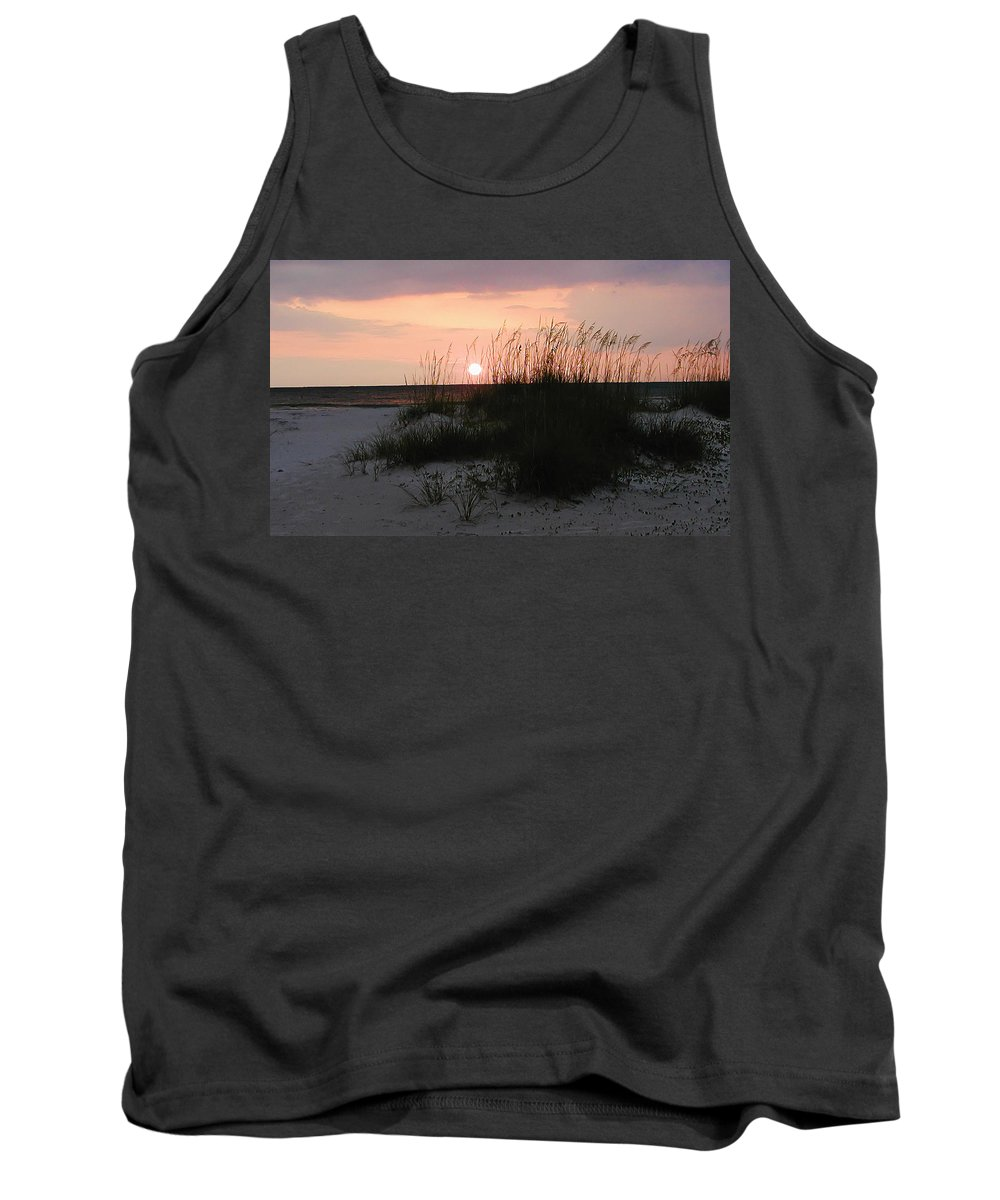Dune Sunset Tank Top featuring the photograph Dune Sunset by Bill Cannon