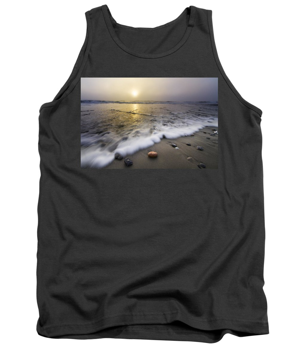 American Tank Top featuring the photograph Evening Rush by Debra and Dave Vanderlaan