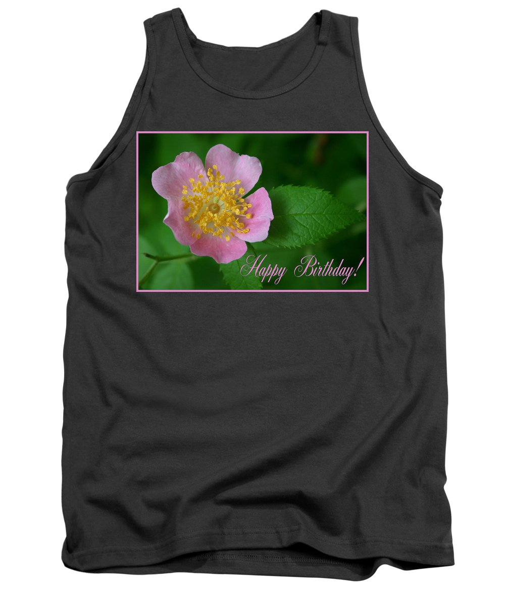 Happy Birthday Tank Top featuring the photograph February Birthday by Kristin Elmquist