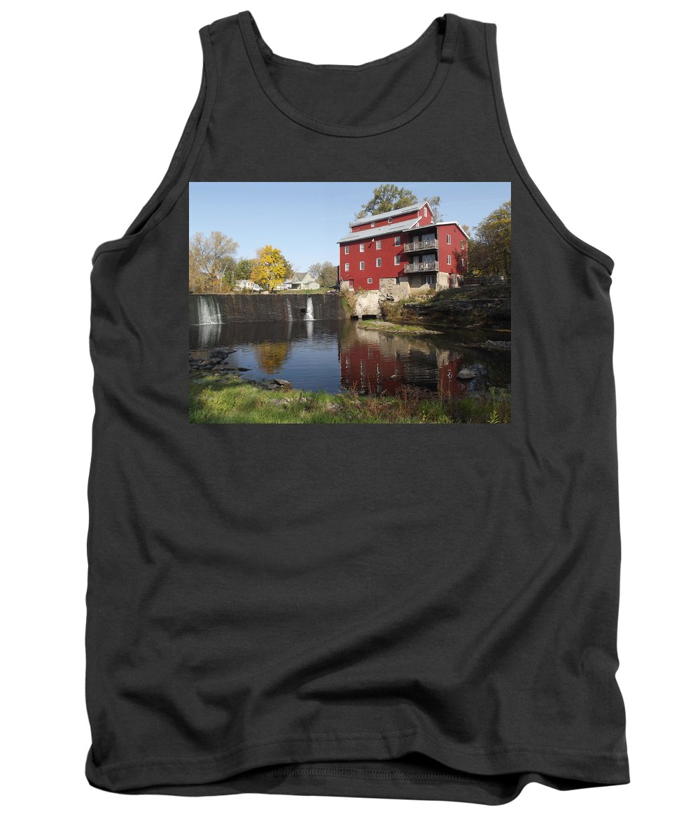 Mill Tank Top featuring the photograph Fertile Mill by Bonfire Photography