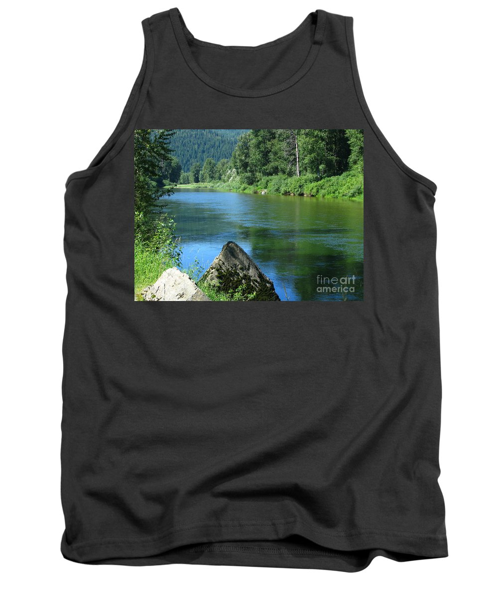 Patzer Photography Tank Top featuring the photograph Fishing Spot 4 by Greg Patzer