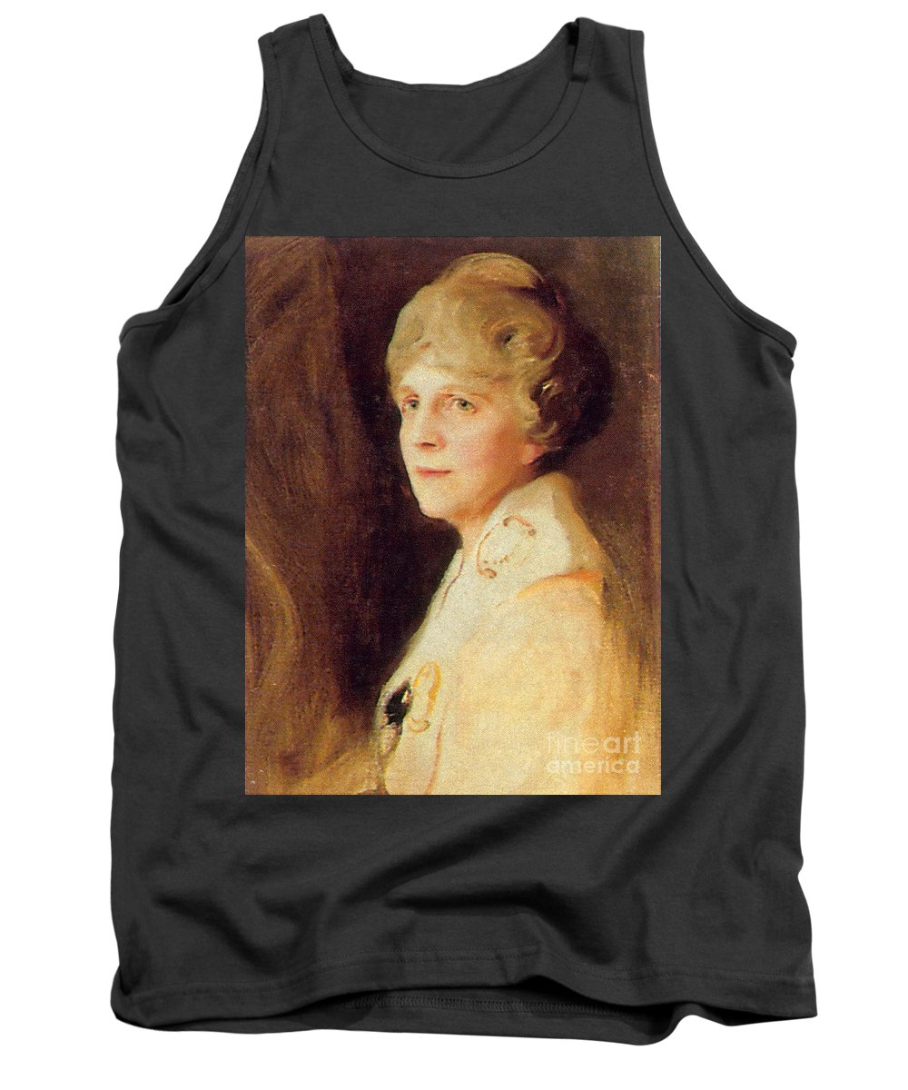 Painting Tank Top featuring the photograph Florence Harding by Photo Researchers