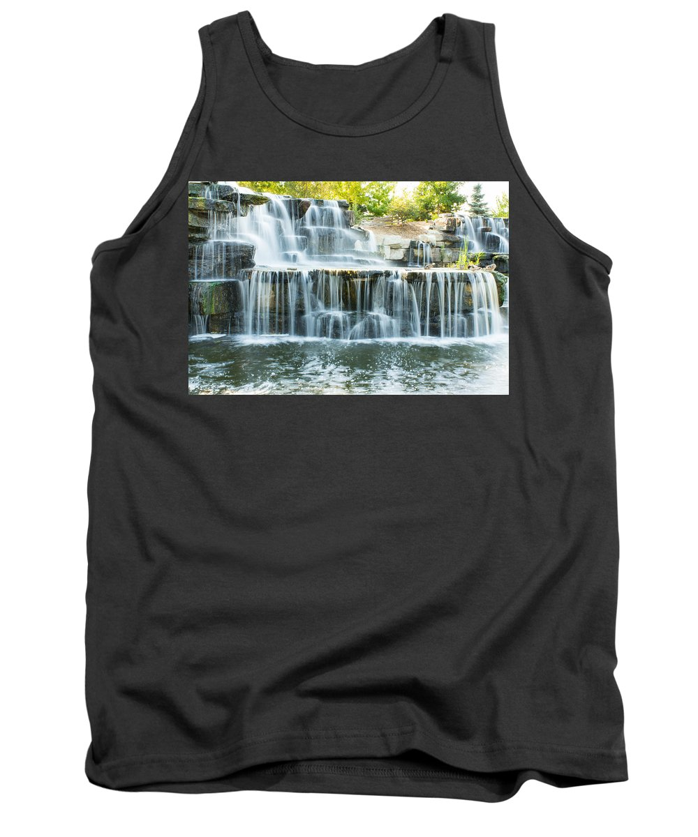 Bay Beach Wildlife Sanctuary Tank Top featuring the photograph Flowing Beauty by Bill Pevlor