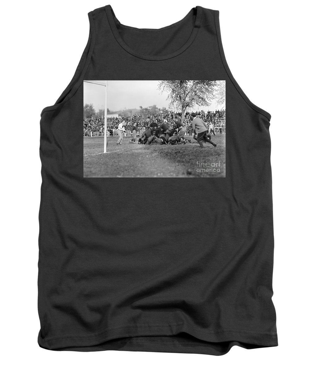 1912 Tank Top featuring the photograph Football Game, 1912 by Granger