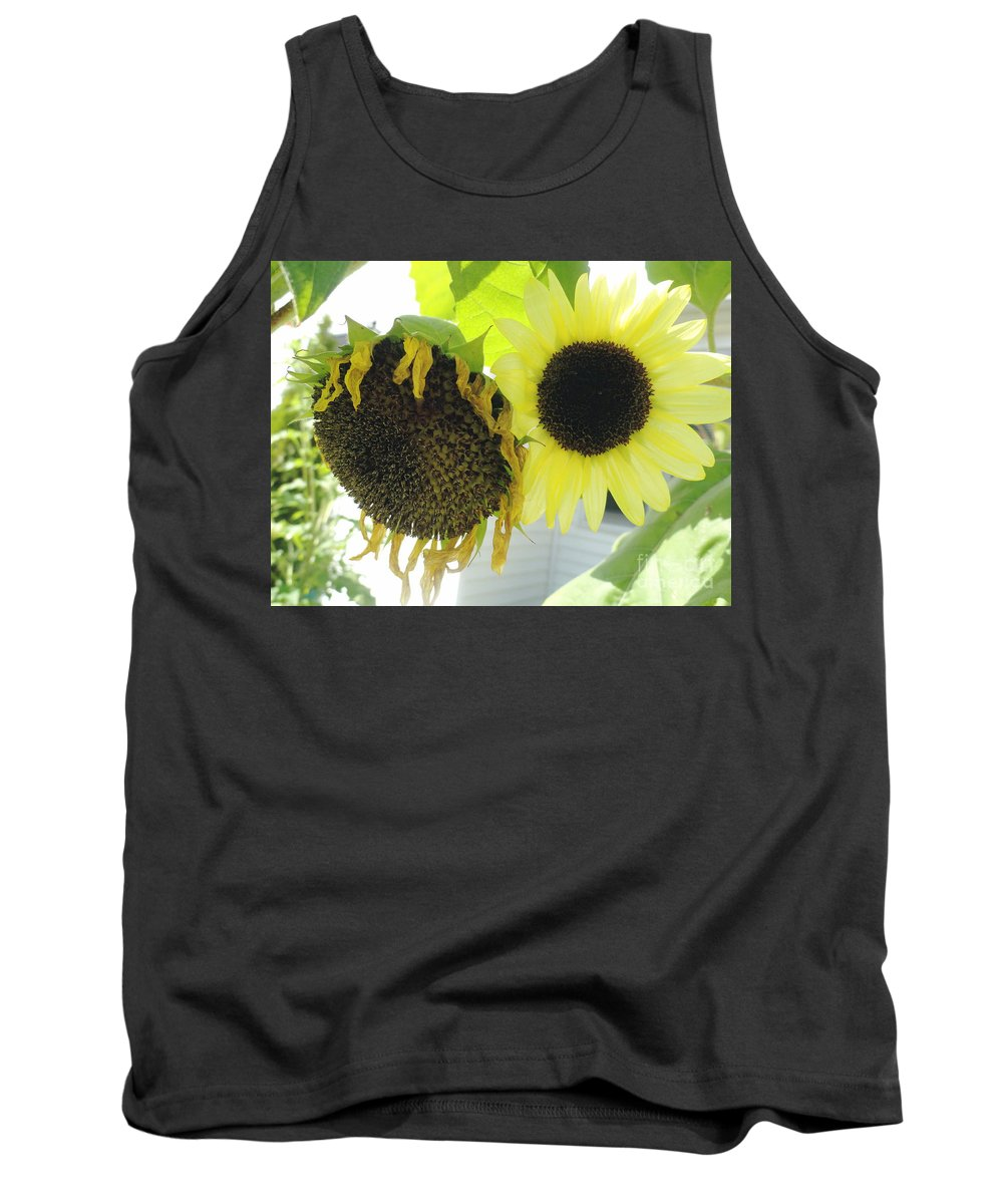 Yellow Tank Top featuring the photograph Fortune Teller by Trish Hale