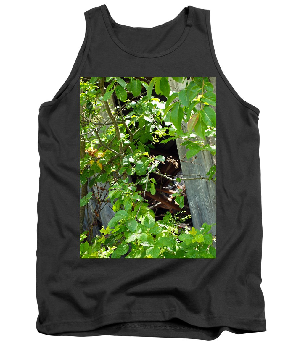 Farm Animals Tank Top featuring the photograph Found In The Woods by Robert Margetts