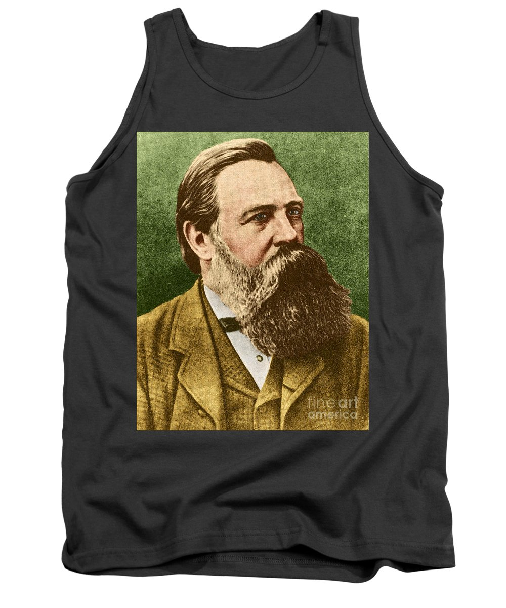 Friedrich Engels Tank Top featuring the photograph Friedrich Engels, Father Of Communism by Photo Researchers