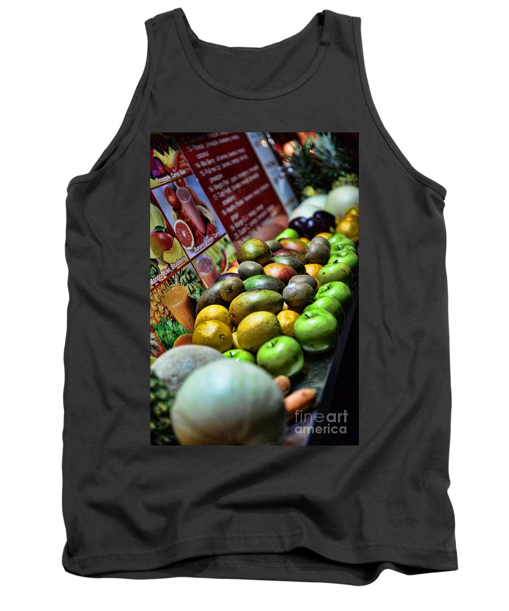 Fruit Tank Top featuring the photograph Fruit Stand by Paul Ward