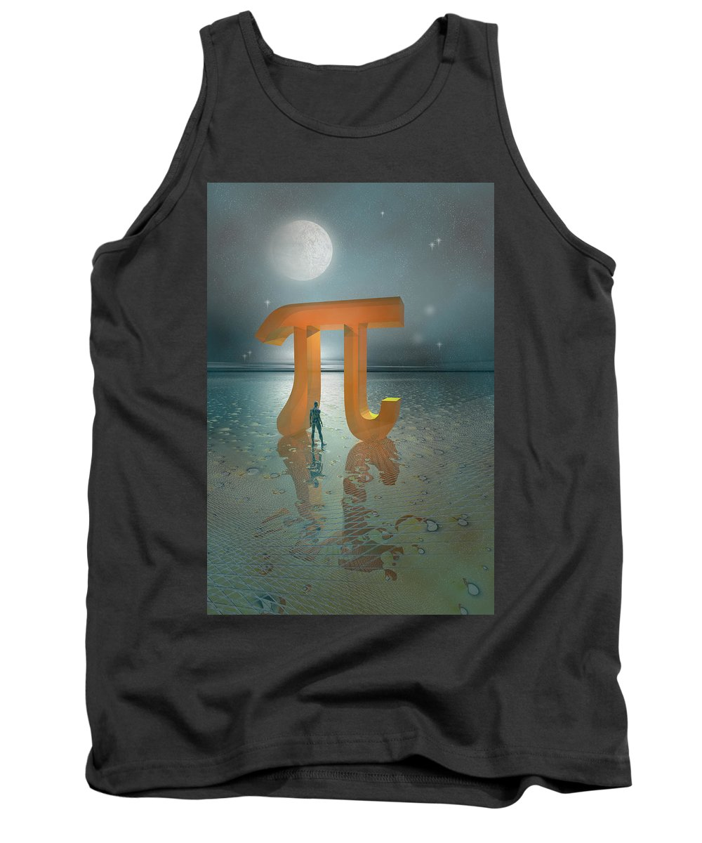 Fantasy Tank Top featuring the digital art Gateway by Carol and Mike Werner