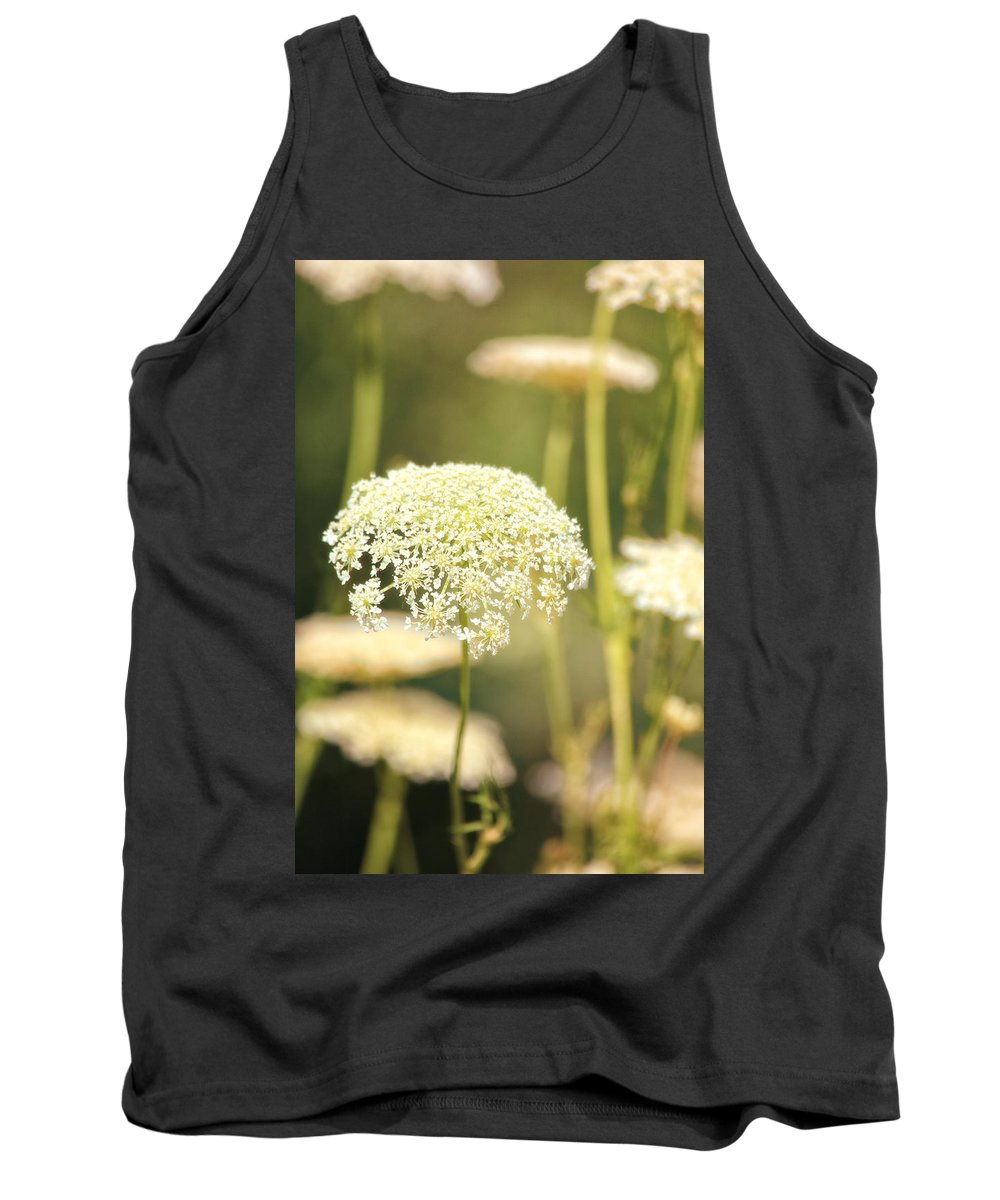 Flowers Tank Top featuring the photograph Gently by Karol Livote