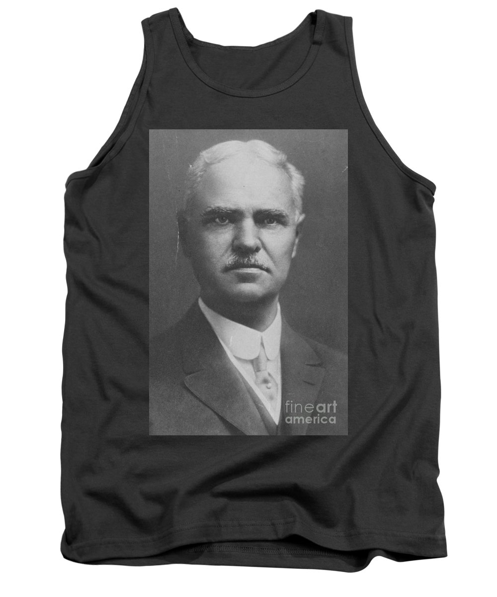 Photo Tank Top featuring the photograph George Washington Goethals, American by Science Source