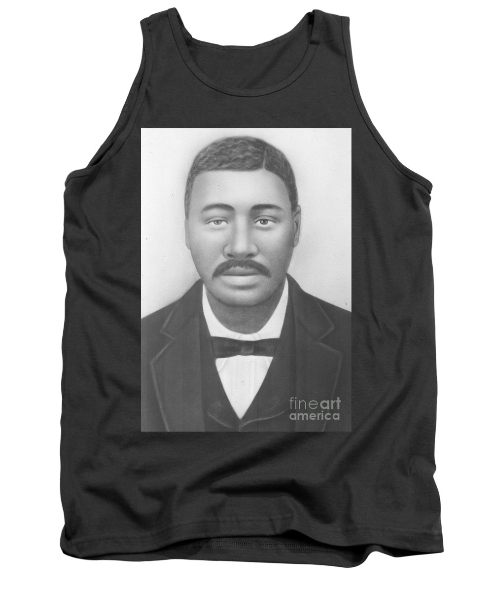 Tank Top featuring the photograph Great Grandpa Robert Lester by Angela L Walker