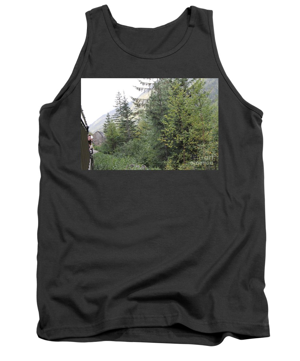 Train Ride Tank Top featuring the photograph Hanging Shot by Pamela Walrath